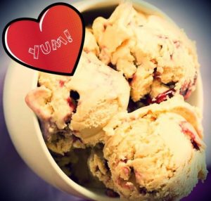 peanut butter jelly ice cream recipe