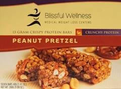 low carb Peanut Pretzel
