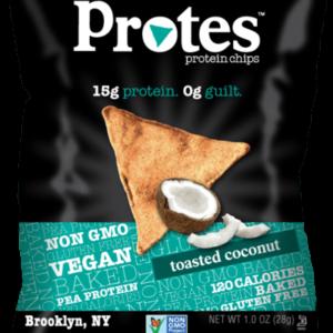 coconut protein snack